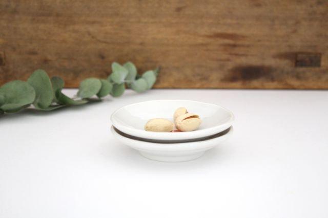 九谷焼 ハレクタニ ネコ豆皿 赤 磁器 画像2