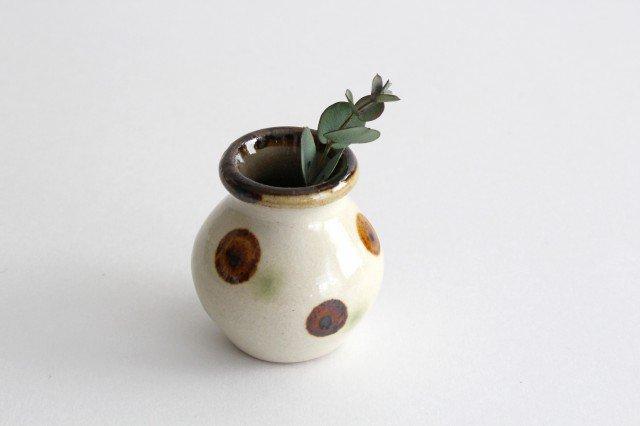 楊枝壺 ドット オーグスヤアメ 陶器 陶芸こまがた 駒形爽飛 やちむん 画像4