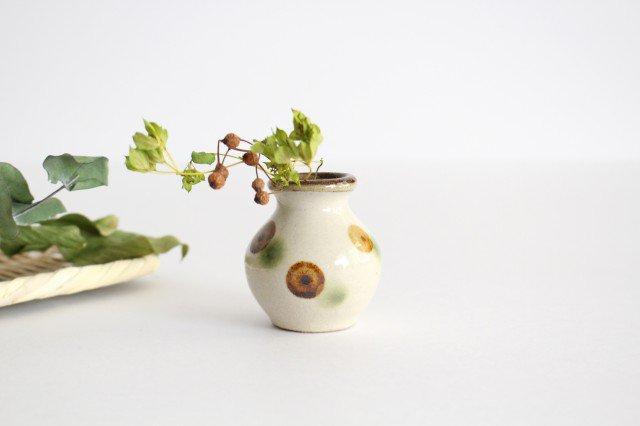 楊枝壺 ドット オーグスヤアメ 陶器 陶芸こまがた 駒形爽飛 やちむん 画像6