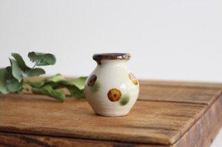 楊枝壺 ドット オーグスヤアメ 陶器 陶芸こまがた 駒形爽飛 やちむん商品画像