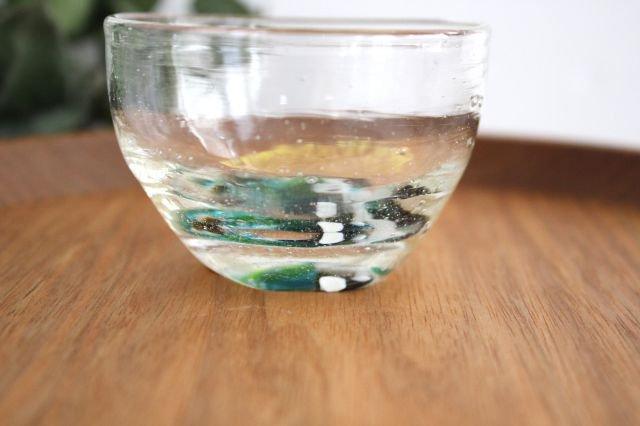 ぐい飲み イロドリ 【D】 ガラス 23n. 滝川ふみ 画像4
