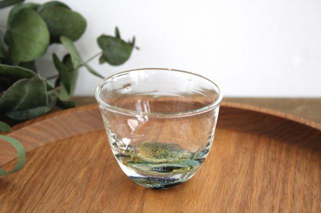 ぐい飲み イロドリ 【G】 ガラス 23n. 滝川ふみ