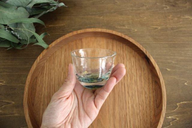 ぐい飲み イロドリ 【G】 ガラス 23n. 滝川ふみ 画像2