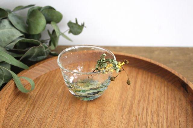 ぐい飲み イロドリ 【G】 ガラス 23n. 滝川ふみ 画像4