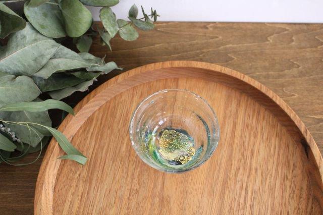 ぐい飲み イロドリ 【G】 ガラス 23n. 滝川ふみ 画像6