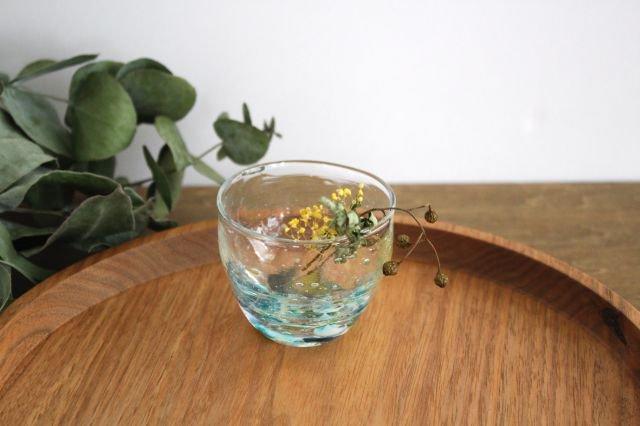 ぐい飲み イロドリ 【I】 ガラス 23n. 滝川ふみ