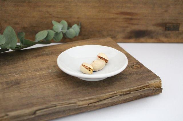 九谷焼 ハレクタニ ネコ豆皿 青 磁器 画像2