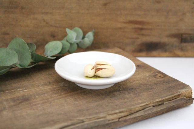 九谷焼 ハレクタニ ネコ豆皿 黄 磁器 画像2