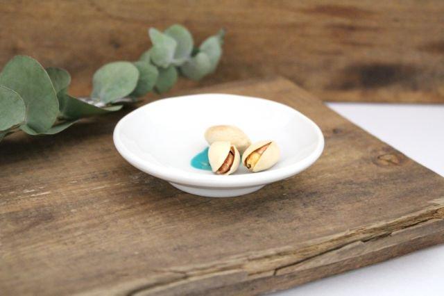 九谷焼 ハレクタニ ネコ豆皿 緑 磁器 画像2