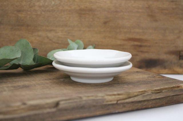 九谷焼 ハレクタニ ネコ豆皿 緑 磁器 画像5