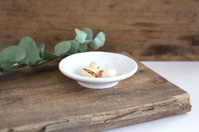 九谷焼 ハレクタニ トリ豆皿 赤 磁器 画像2