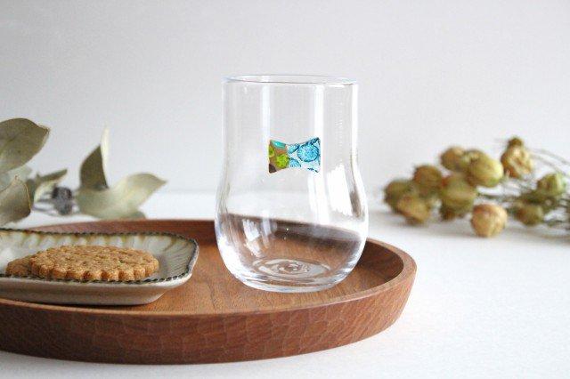 グラス おめかし ブルー系 【B】 ガラス 23n. 滝川ふみ