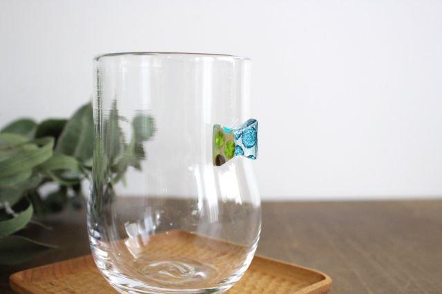 グラス おめかし ブルー系 【B】 ガラス 23n. 滝川ふみ 画像3