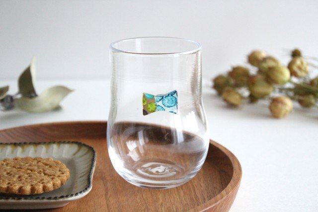 グラス おめかし ブルー系 【B】 ガラス 23n. 滝川ふみ 画像4