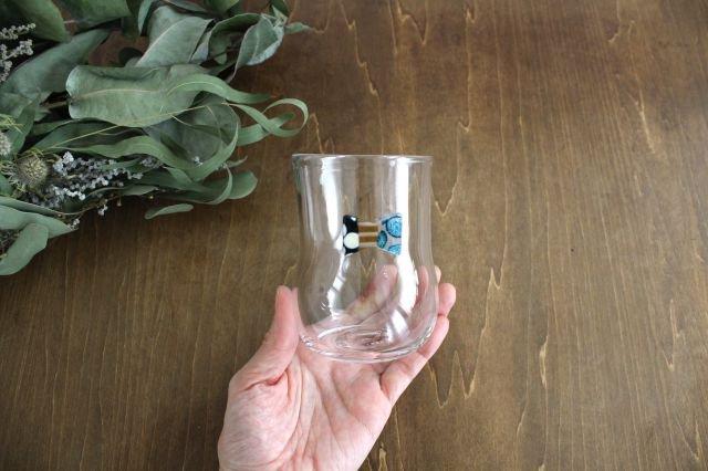 グラス おめかし ブルー系 【F】 ガラス 23n. 滝川ふみ 画像2