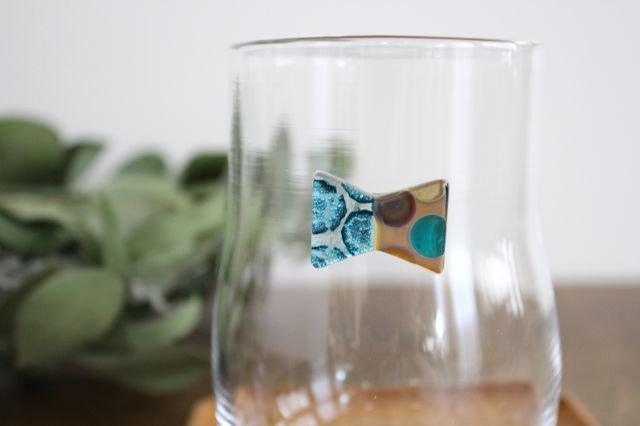 グラス おめかし ブルー系 【G】 ガラス 23n. 滝川ふみ 画像2