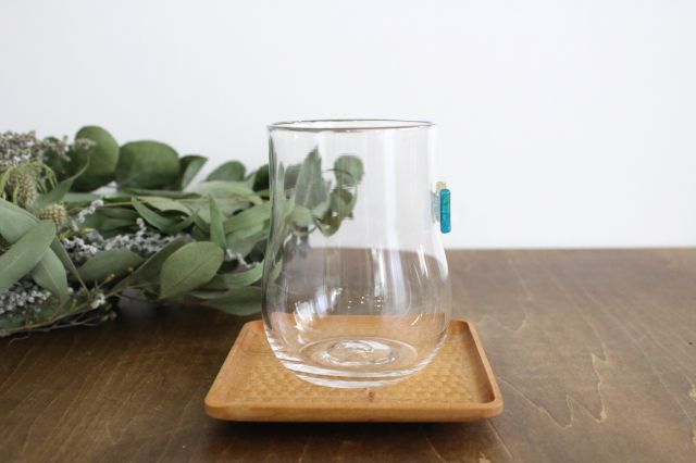 グラス おめかし ブルー系 【H】 ガラス 23n. 滝川ふみ 画像3