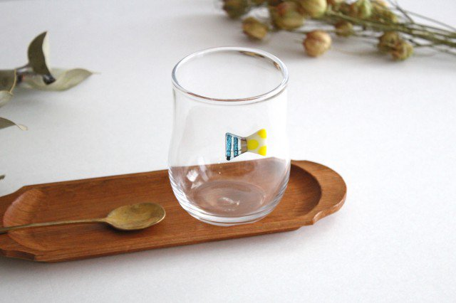 グラス おめかし ブルー系 【H】 ガラス 23n. 滝川ふみ 画像4