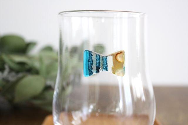 グラス おめかし ブルー系 【H】 ガラス 23n. 滝川ふみ 画像6