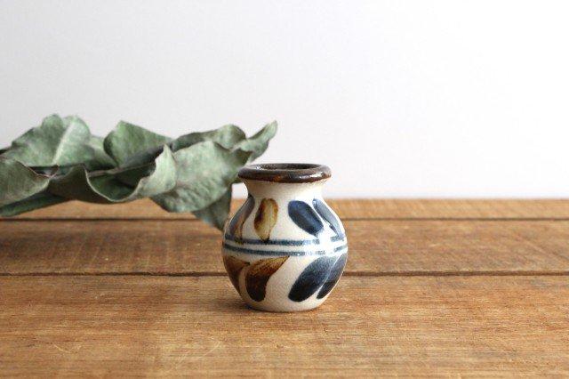 楊枝壺 デイゴ ゴスアメ 陶器 陶芸こまがた 駒形爽飛 やちむん 画像2