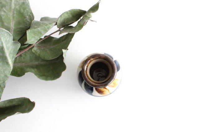 楊枝壺 デイゴ ゴスアメ 陶器 陶芸こまがた 駒形爽飛 やちむん 画像3