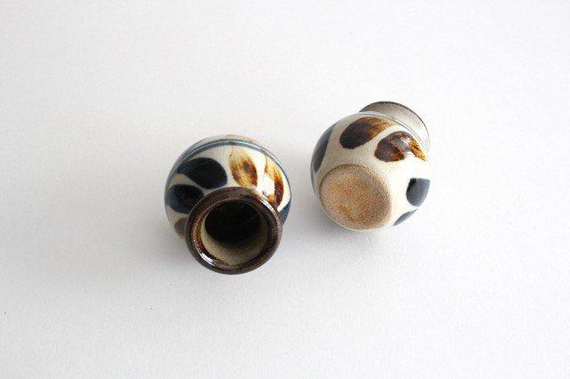 楊枝壺 デイゴ ゴスアメ 陶器 陶芸こまがた 駒形爽飛 やちむん 画像4