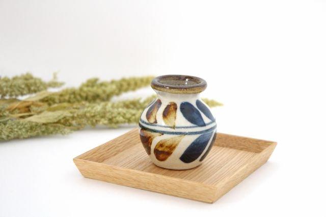楊枝壺 デイゴ ゴスアメ 陶器 陶芸こまがた 駒形爽飛 やちむん 画像5