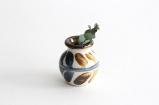 楊枝壺 デイゴ ゴスアメ 陶器 陶芸こまがた 駒形爽飛 やちむん商品画像