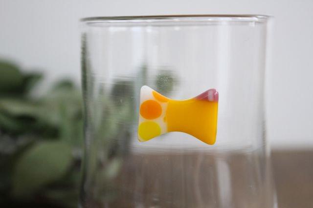 グラス おめかし イエロー系 【A】 ガラス 23n. 滝川ふみ 画像2