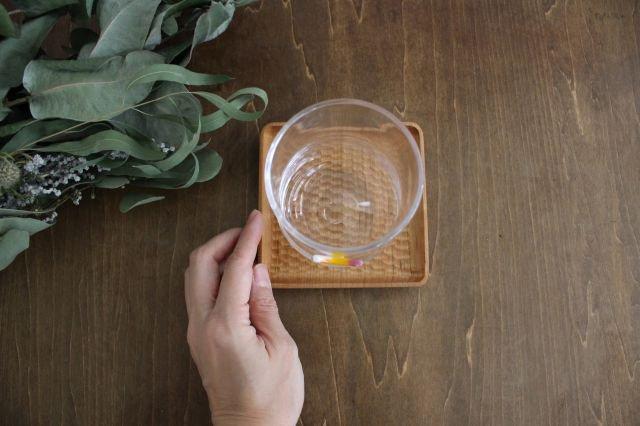 グラス おめかし イエロー系 【A】 ガラス 23n. 滝川ふみ 画像5