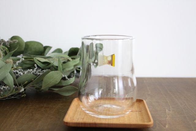 グラス おめかし イエロー系 【B】 ガラス 23n. 滝川ふみ 画像6