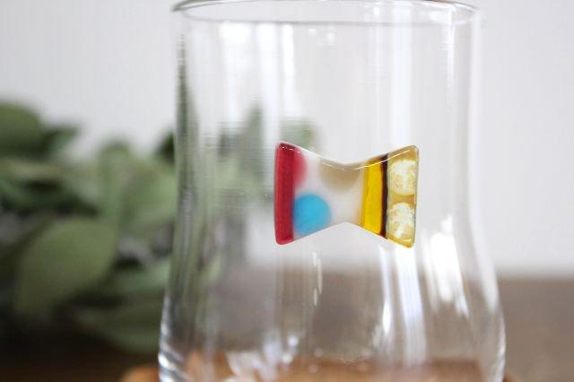 グラス おめかし イエロー系 【D】 ガラス 23n. 滝川ふみ 画像4