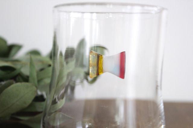 グラス おめかし イエロー系 【D】 ガラス 23n. 滝川ふみ 画像6