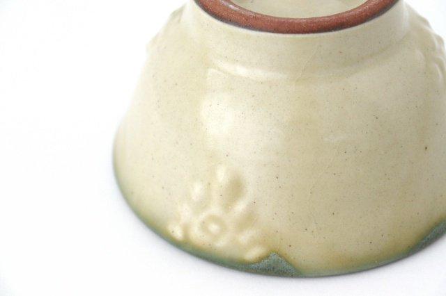 4寸マカイ イッチン 陶器 ノモ陶器製作所 やちむん 画像6
