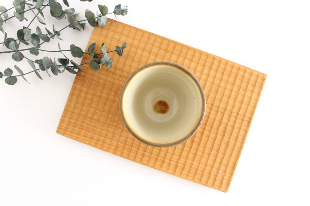 そばちょこ アメ 陶器 ノモ陶器製作所 やちむん 画像2