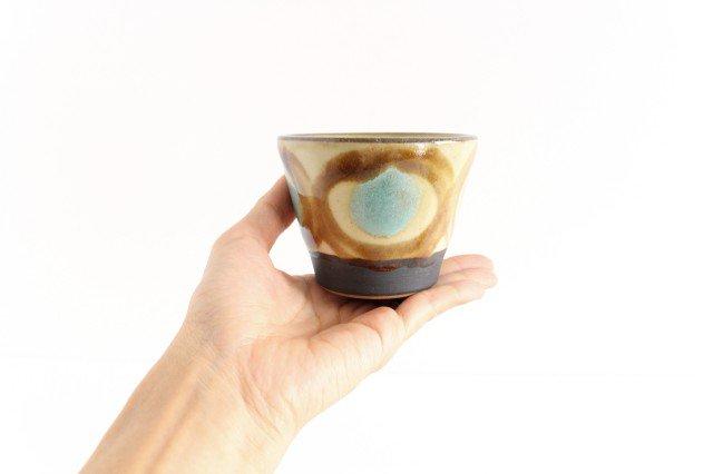 そばちょこ アメ 陶器 ノモ陶器製作所 やちむん 画像3