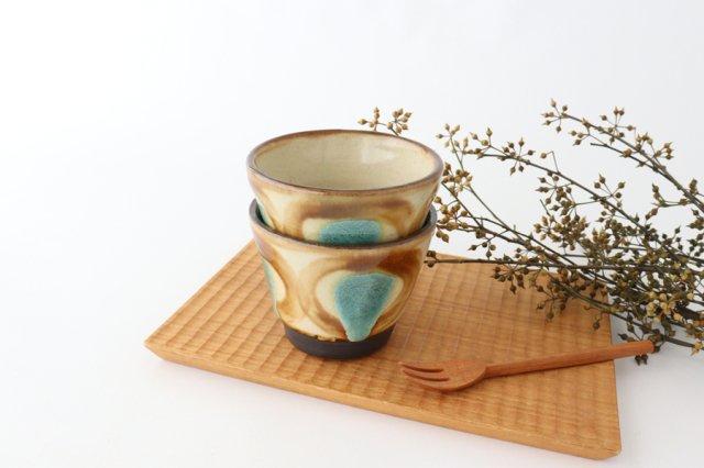 そばちょこ アメ 陶器 ノモ陶器製作所 やちむん 画像5