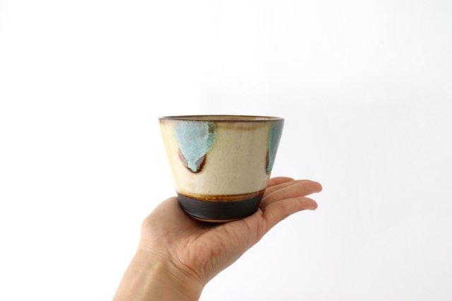 そばちょこ オーグスヤ— 陶器 ノモ陶器製作所 やちむん 画像4