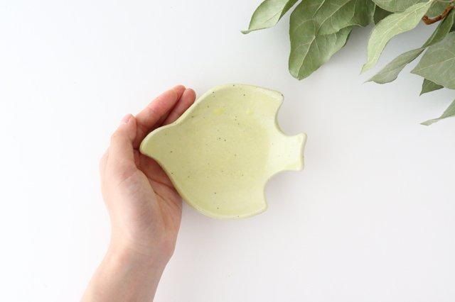 コトリ小皿 レモン 陶器 長浜由起子 画像3