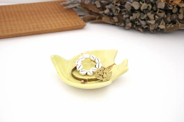 コトリ小皿 レモン 陶器 長浜由起子 画像4