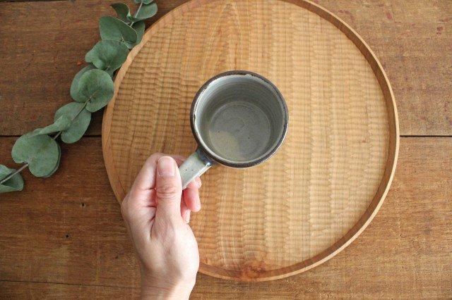コーヒーカップ 連ドット 陶器 mug やちむん 画像2