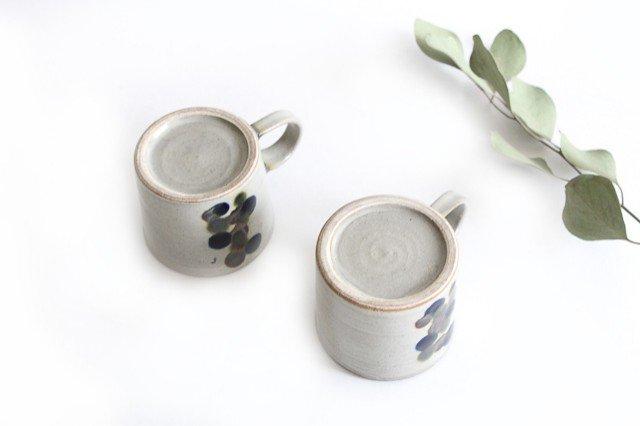 コーヒーカップ 連ドット 陶器 mug やちむん 画像3