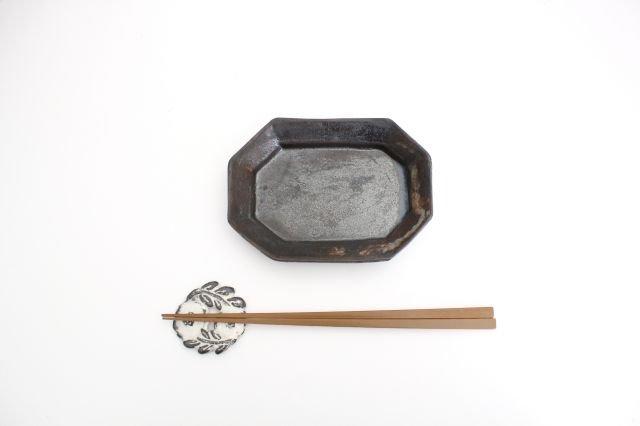 八角長皿 小 陶器 長浜由起子 画像4