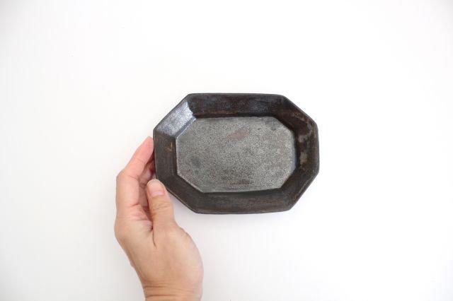 八角長皿 小 陶器 長浜由起子 画像5