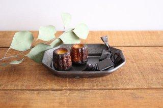 八角長皿 小 陶器 長浜由起子商品画像