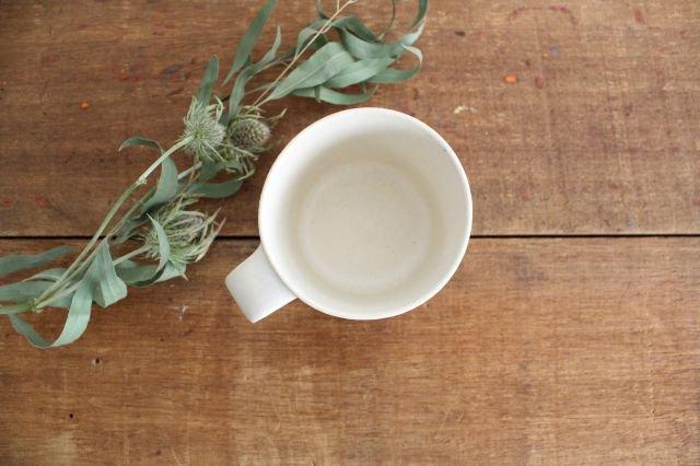 マグカップ 小 白 陶器 寺嶋綾子 画像5