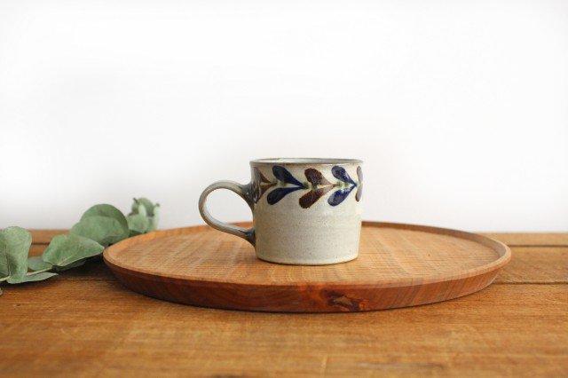 コーヒーカップ デイゴ 陶器 mug やちむん
