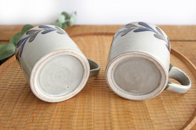 コーヒーカップ デイゴ 陶器 mug やちむん 画像2