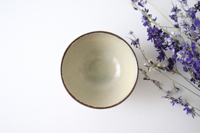 マカイ 4寸 デイゴ 陶器 mug やちむん 画像2