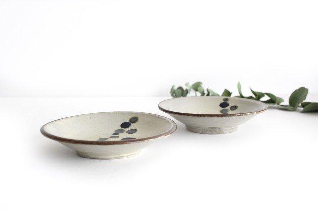 5寸皿 連ドット 陶器 mug やちむん 画像2
